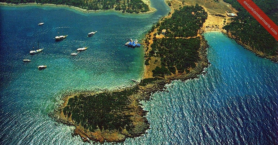 Marmaris Wycieczki, Wyspa Kleopatry