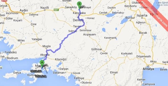Marmaris Prywatne Wycieczki do Pamukkale