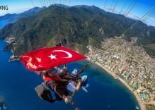 Paragliding w Marmaris